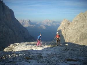 una cima nei Dolomiti